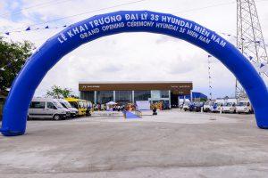 dự án showroom Hyundai Miền Nam